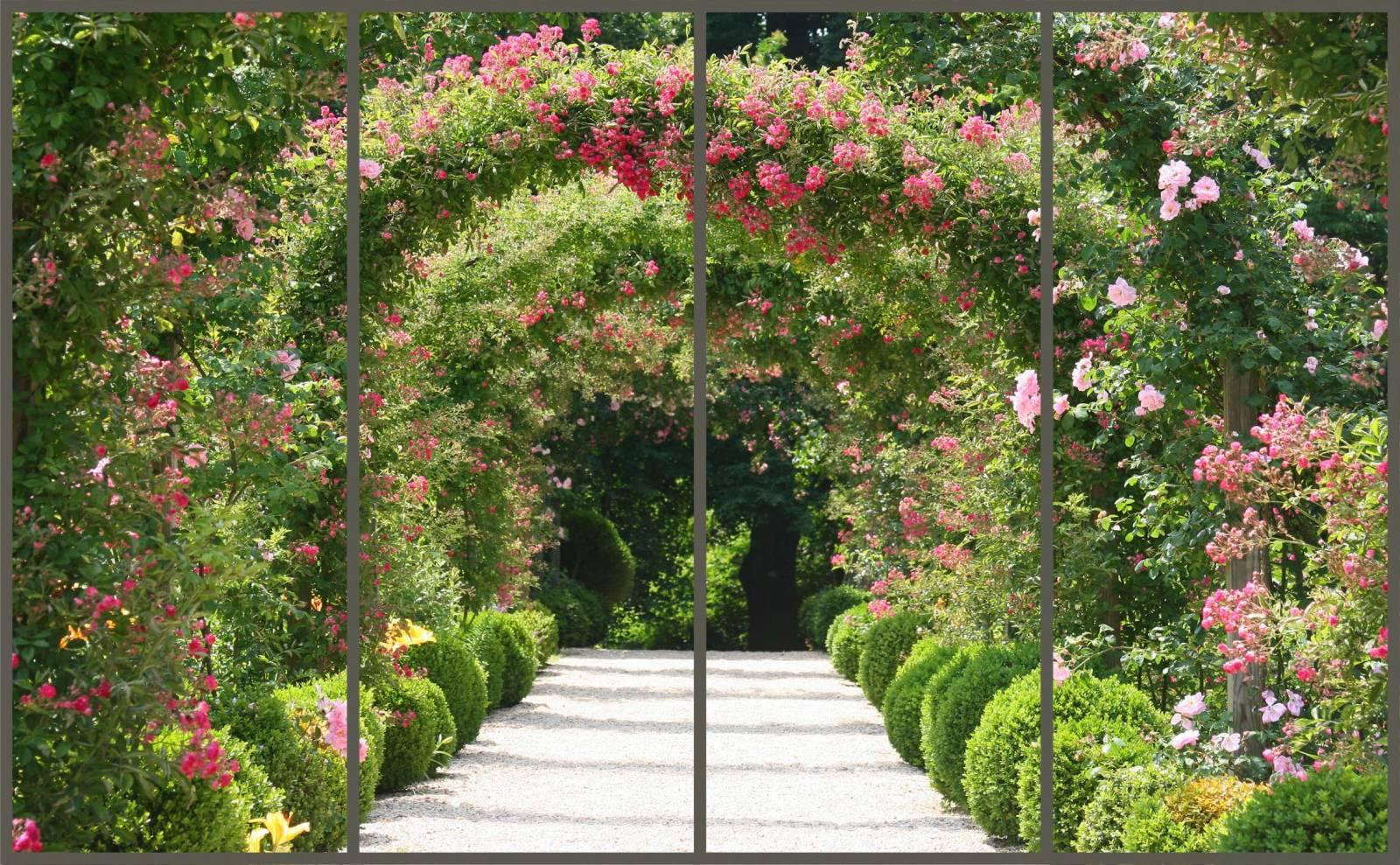 Фотообои вид с балкона в сад. - балконы - каталог статей - у.